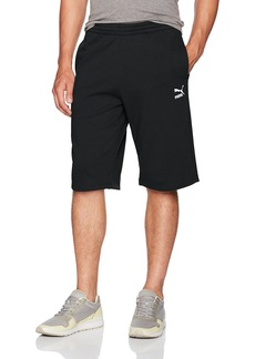 PUMA Men's Archive Logo Bermuda Shorts Black L