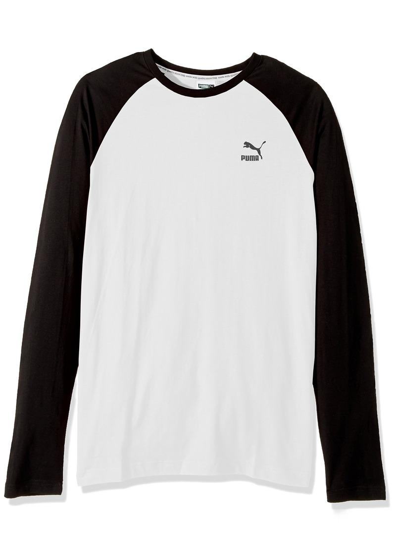 f0729464 Men's Archive Logo Raglan Long Sleeve T-Shirt White