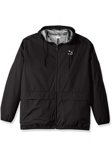 PUMA Men's Archive Logo Windbreaker Black