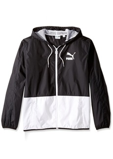 PUMA Men's Archive T7 Windbreaker Jacket  L