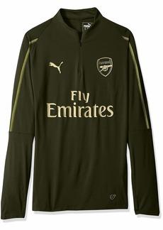 PUMA Men's Arsenal FC 1/4 TOP with Zipped Pocket  M