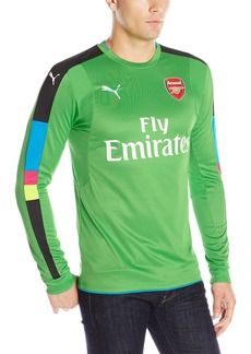 PUMA Men's Arsenal FC Long Sleeve With Sponsor Logo