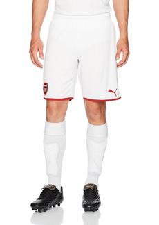 PUMA Men's Arsenal FC Replica Shorts White/Chili Pepper