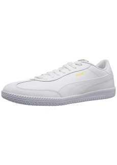 PUMA Men's Astro Cup Leather Sneaker Puma White-Puma White