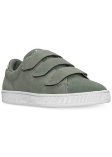 Puma Men's Basket Classic Strap Casual Sneakers from Finish Line