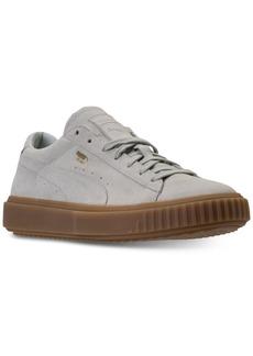 Puma Men's Breaker Suede Gum Casual Sneakers from Finish Line