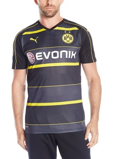PUMA Men's BVB Away Replica Shirt with Sponsor Logo