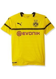bad88920e378 Puma PUMA Men s BVB Int l Replica Shirt with Sponsor Logo Cyber ...