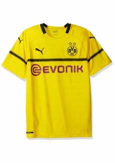 PUMA Men's BVB Cup Shirt Replica with Evonik Logo  M