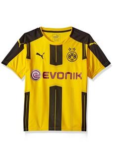 PUMA Men's BVB Kids Home Replica Shirt with Sponsor Logo