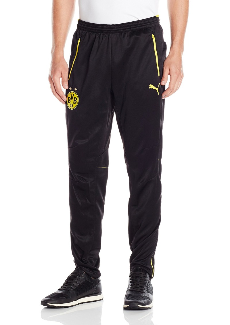 PUMA Men's Bvb Training Pants with Pockets