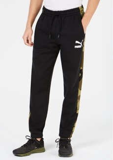 Puma Men's Camo-Stripe Pants