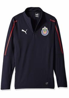 PUMA Men's Chivas 1/4 Zip Top New Navy XL