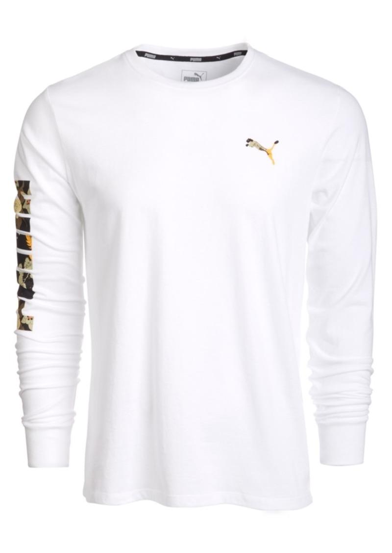 Puma Men's Classic Logo Long-Sleeve T-Shirt