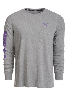 Puma Men's Classic Logo Long-Sleeve T-Shirt