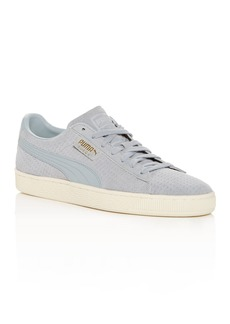 PUMA Men's Classic Perforated Suede Lace Up Sneakers