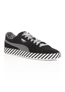PUMA Men's Classic Pop Culture Suede Low-Top Sneakers