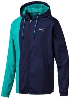 Puma Men's Collective Colorblocked Woven Jacket