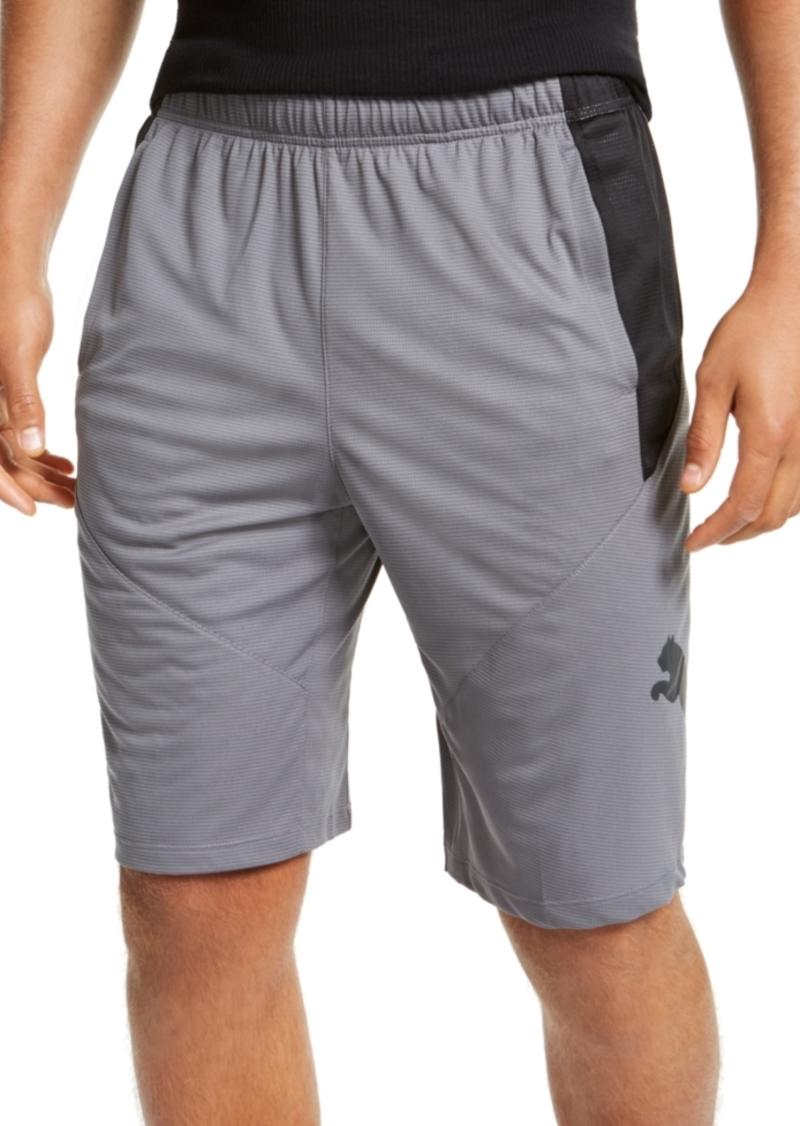 "Puma Men's Colorblocked Logo 10"" Shorts"