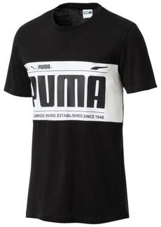 Puma Men's Colorblocked Logo T-Shirt