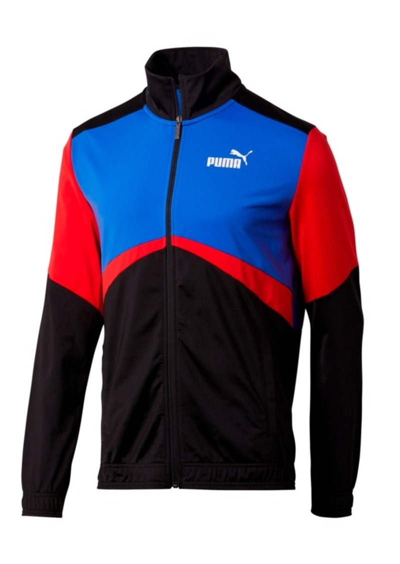 Puma Men's Colorblocked Retro Track Jacket