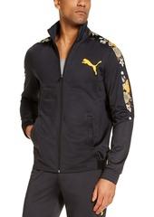 Puma Men's Contrast-Print Track Jacket