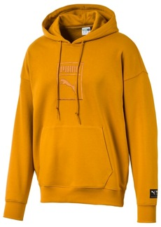 Puma Men's Downtown Logo Relaxed Hoodie