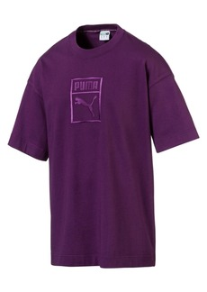 Puma Men's Downtown Logo Relaxed T-Shirt