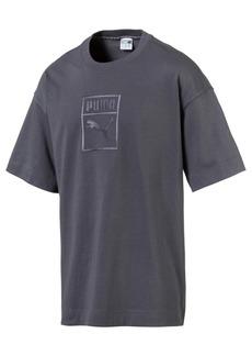 Puma Men's Downtown Logo Relaxed T-Shirt