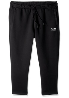PUMA Men's Downtown Sweat Pants Cropped F Black M