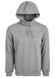 Puma Men's Embroidered-Logo Fleece Hoodie