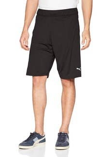 PUMA Men's Energy Knit Shorts Black White XL