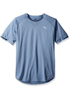 PUMA Men's Energy Laser Short Sleeve T-Shirt  S
