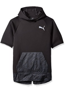 PUMA Men's Energy Short Sleeve Hoodie  L