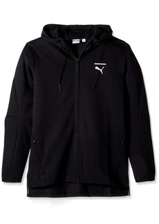 PUMA Men's EVO Core Full Zip Hoodie Black
