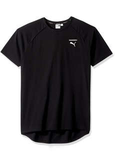 PUMA Men's EVO Core T-Shirt Black