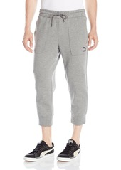 PUMA Men's Evo Sweat 3/4 Pants  Small