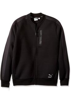 PUMA Men's EVO T7 Sweat Jacket Black