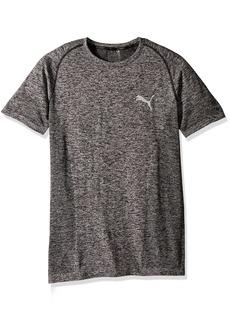 PUMA Men's Evoknit Better T-Shirt Black XXL