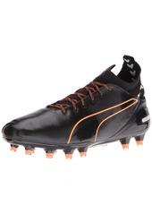 PUMA Men's Evotouch pro fg Soccer Shoe Black
