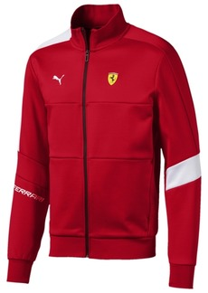 Puma Men's Ferrari Colorblocked Track Jacket