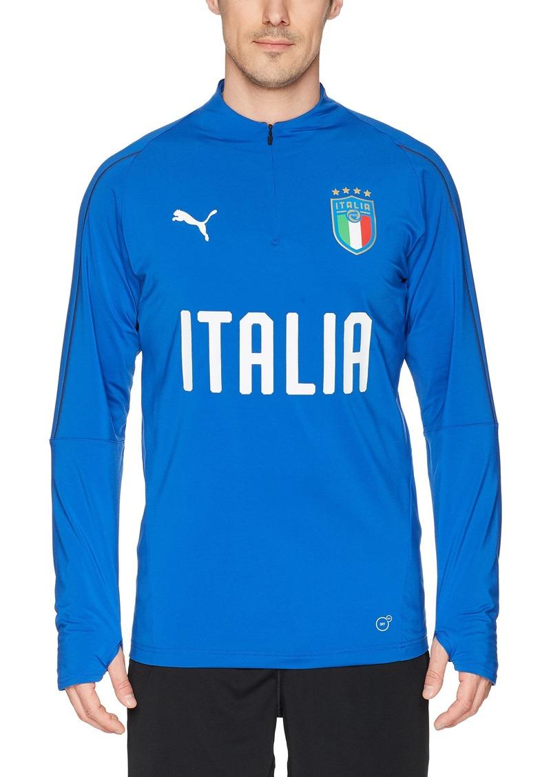 reputable site 78e8e 7846a Men's FIGC Italia 1/4 Zip Training Top M