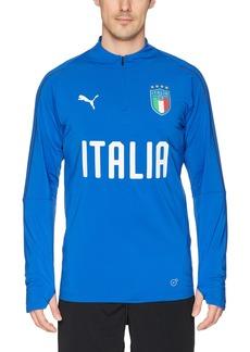 PUMA Men's FIGC Italia 1/4 Zip Training Top  XXL