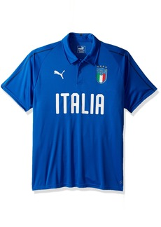 PUMA Men's FIGC Italia Polyester Polo  XL