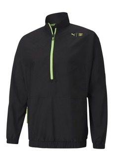Puma Men's First Mile Xtreme Woven Half-Zip Jacket