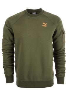 Puma Men's Fleece Cargo Sweatshirt