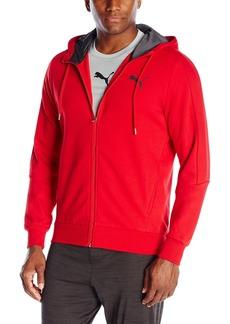 PUMA Men's Hero Full Zip Hoodie Fleece