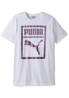 PUMA Men's Holographic Tee White