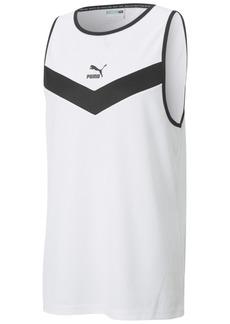 Puma Men's Iconic Colorblocked Tank Top