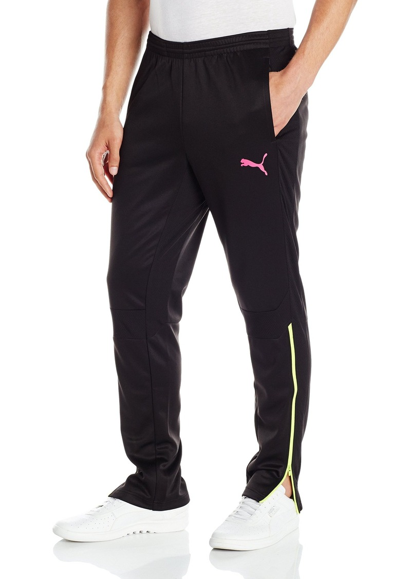PUMA Men's It Evotrg Pants Black/Pink Glow Medium